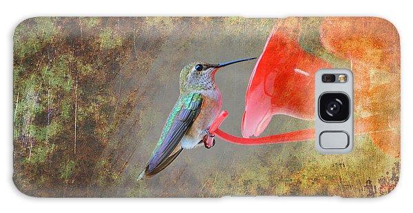 Plate 153 - Hummingbird Grunge Series Galaxy Case