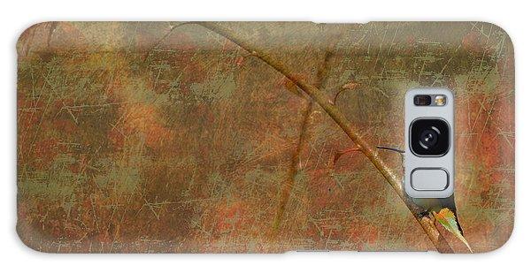 Plate 225 - Hummingbird Grunge Series Galaxy Case