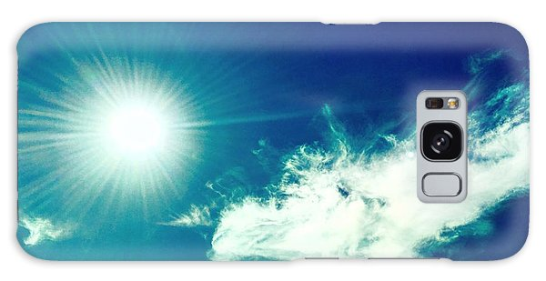 Platinum Rays And Angelic Cloud Bless The Prairie Galaxy Case
