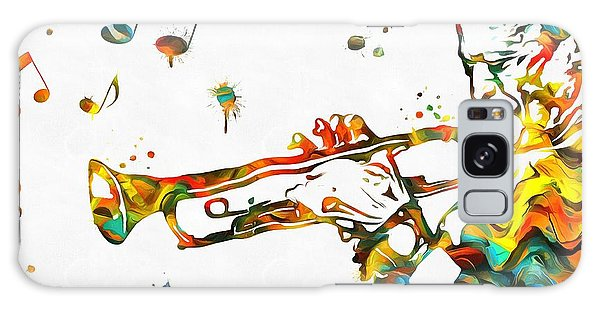 Hard Bop Galaxy Case - Play It Miles by Dan Sproul