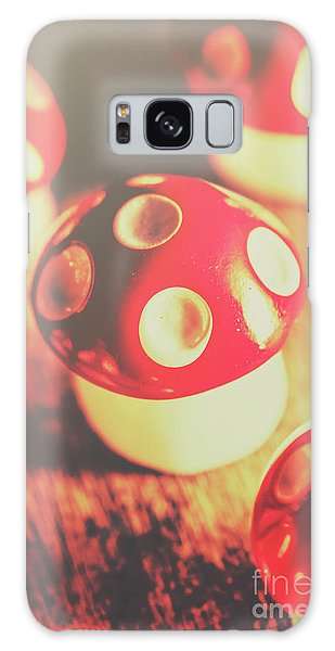 Mushroom Galaxy S8 Case - Play Toys Of Imagination by Jorgo Photography - Wall Art Gallery