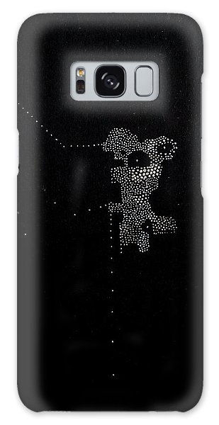Galaxy Case featuring the mixed media Play With It by Maria Lankina