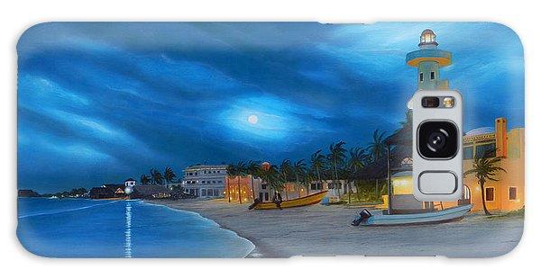 Playa De Noche Galaxy Case