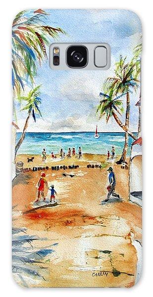 Playa Del Carmen Galaxy Case by Carlin Blahnik
