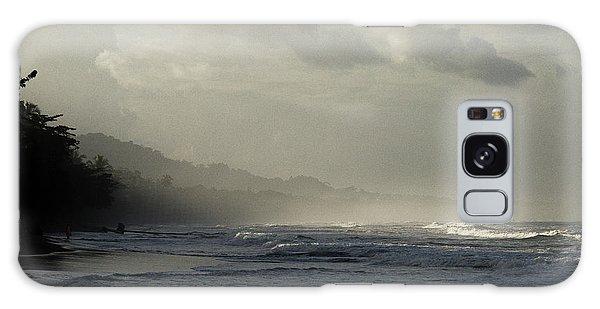 Playa Negra Beach At Sunset In Costa Rica Galaxy Case