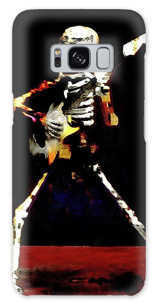 Galaxy Case featuring the photograph Player by Jeff Gettis