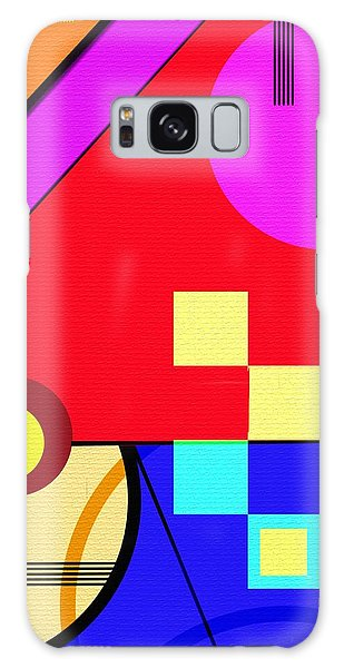 Galaxy Case featuring the digital art Playful by Silvia Ganora