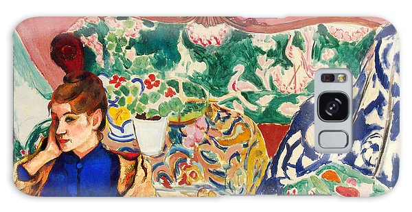 Playing With Henri Matisse Galaxy Case