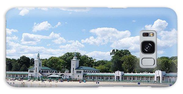 Playland Beach Boardwalk Galaxy Case by Margie Avellino