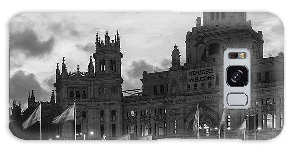 Plaza De Cibeles Fountain Madrid Spain Galaxy Case