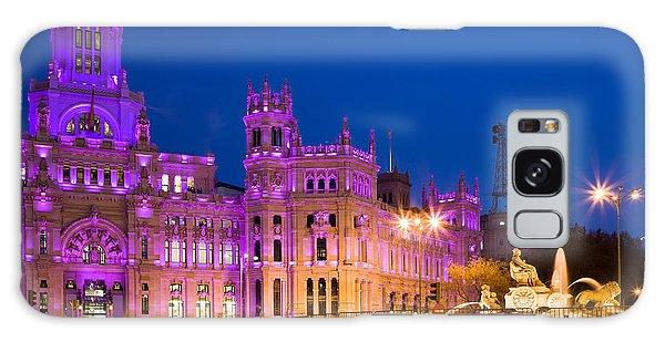 Plaza De Cibeles In Madrid Galaxy Case