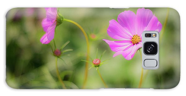 Pleasant Summer Wild Flowers Galaxy Case