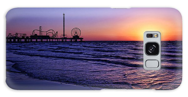 Pleasure Pier Sunrise Galaxy Case