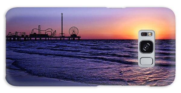 Pleasure Pier Sunrise Galaxy Case
