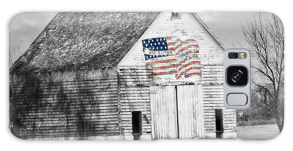 Pledge Of Allegiance Crib Galaxy Case by Kathy M Krause