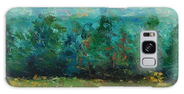 Plein Air With Palette Knives Galaxy Case by Carol Berning