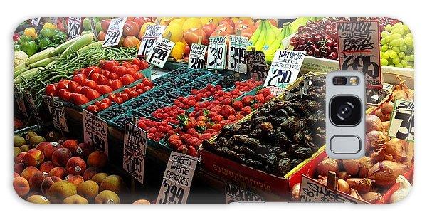 Plethora Of Fruit Galaxy Case