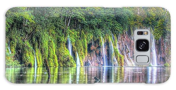 Plitvice Lakes Galaxy Case