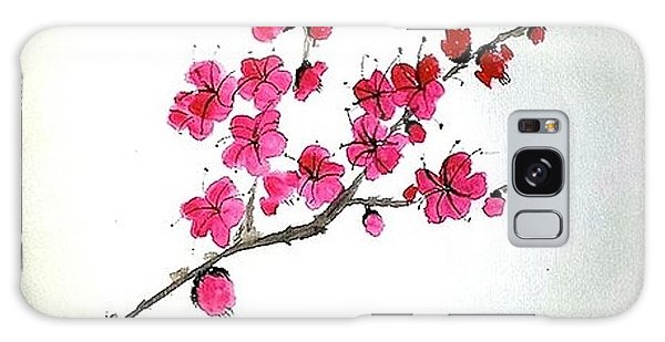 Plum Blossoms Galaxy Case