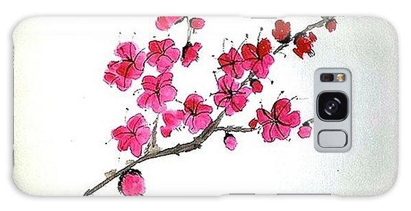 Plum Blossoms Galaxy Case