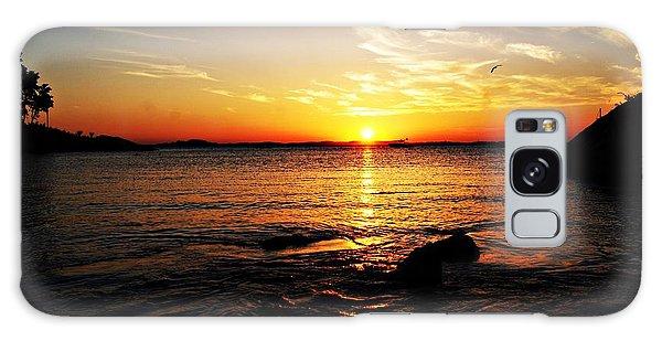 Plum Cove Beach Sunset G Galaxy Case