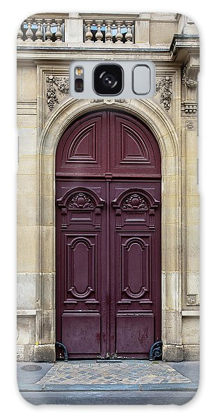 Plum Door - Paris, France Galaxy Case