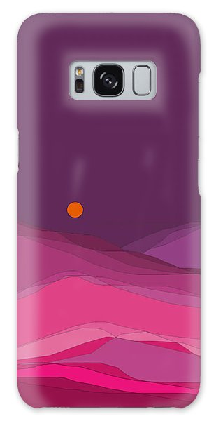 Plum Hills II Galaxy Case by Val Arie