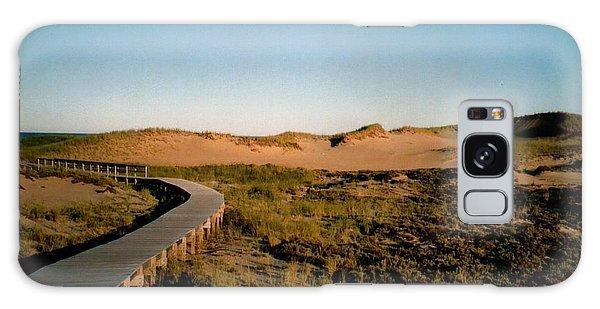 Plum Island Dunes Galaxy Case