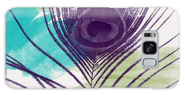 Feathers Galaxy Case - Plumage 2-art By Linda Woods by Linda Woods