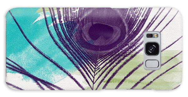 Peacock Galaxy S8 Case - Plumage 2-art By Linda Woods by Linda Woods