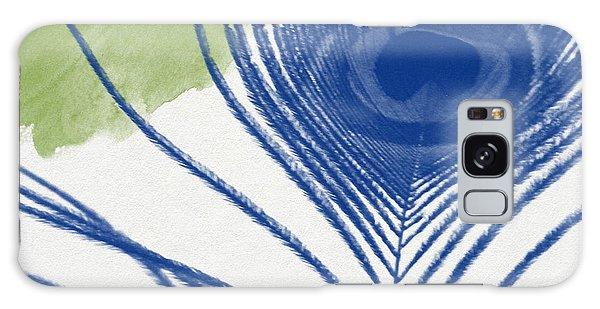 Peacock Galaxy S8 Case - Plumage 3- Art By Linda Woods by Linda Woods