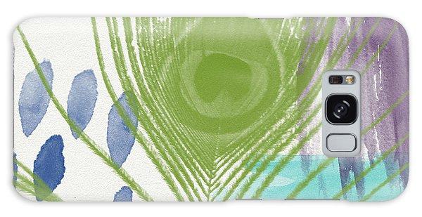Peacock Galaxy S8 Case - Plumage 4- Art By Linda Woods by Linda Woods
