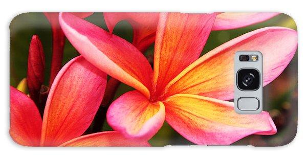 Plumeria - Pretty Pink Galaxy Case