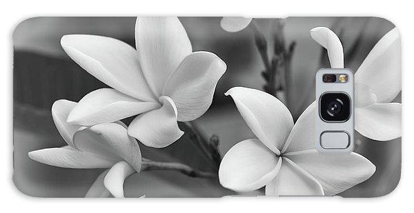 Plumeria Flowers Galaxy Case