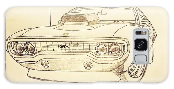 Plymouth Gtx American Muscle Car - Antique  Galaxy Case