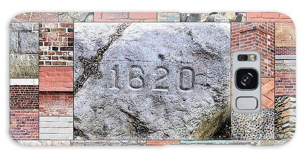Plymouth Rocks And Bricks Galaxy Case