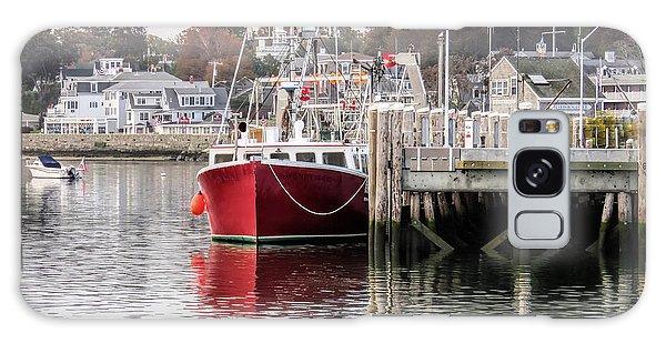 Plymouth Town Harbor  Galaxy Case