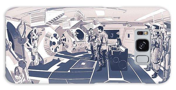 Pod Bay Galaxy Case by Kurt Ramschissel