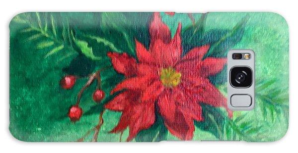 Poinsettia Galaxy Case
