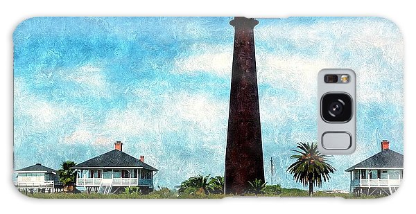 Point Bolivar Lighthouse 1872 Galaxy Case