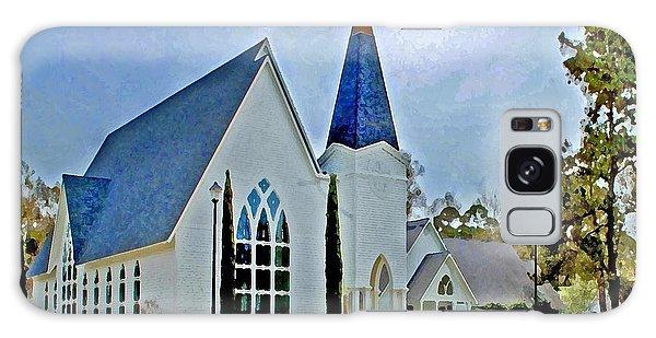 Point Clear Alabama St. Francis Church Galaxy Case