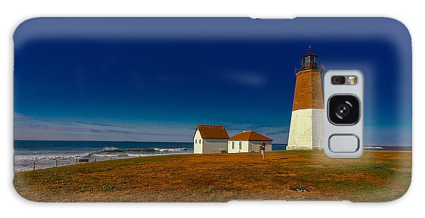 Point Judith Lighthouse Galaxy Case