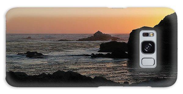 Point Lobos Sunset Galaxy Case