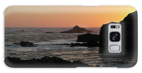 Point Lobos Sunset Galaxy Case by David Chandler