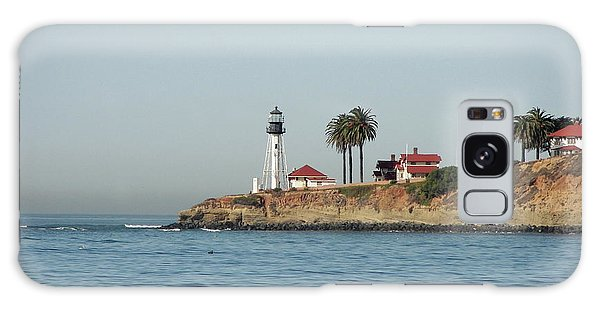 Point Loma Lower Lighthouse Galaxy Case by Carol  Bradley