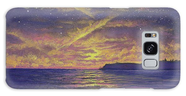 Point Loma Sunset 01 Galaxy Case