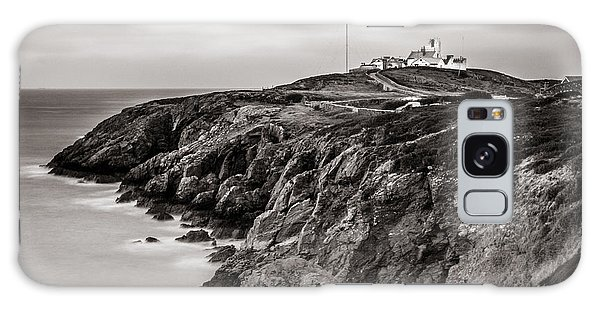 Point Lynas Lighthouse In Llaneilian On Anglesey Galaxy Case