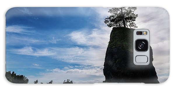 Sea Stacks Galaxy Case - Point Of The Arches by Pelo Blanco Photo