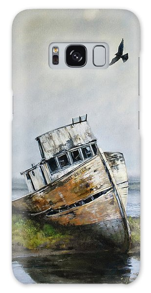 Derelict Galaxy Case - Point Reyes Boat by Tracie Thompson