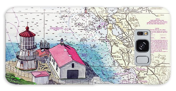 Point Reyes Light Station Galaxy Case